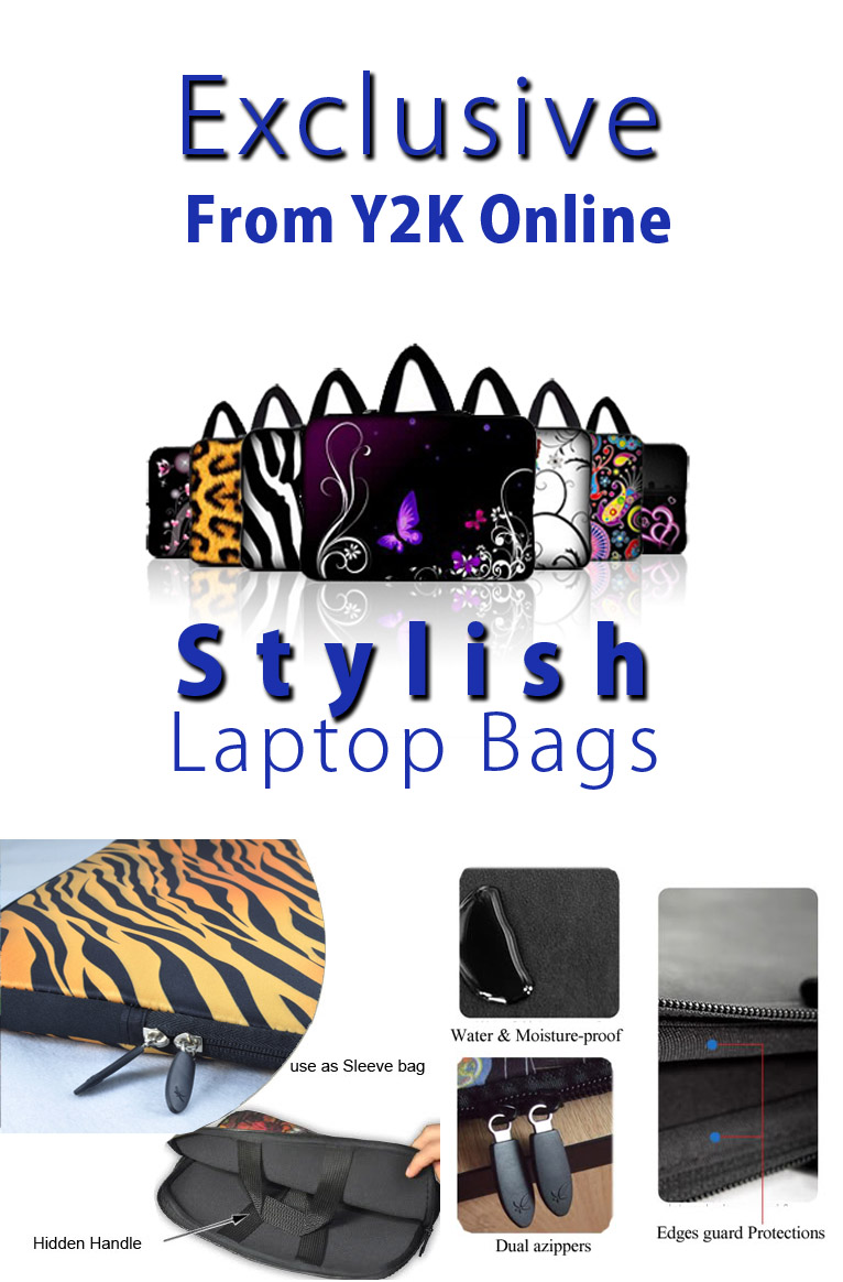 Exclusive Y2K Laptop Sleeve
